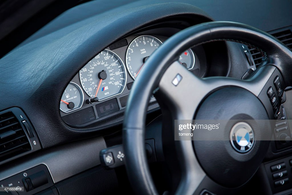 Bmw M3 E46 Interior Stock Photo Getty Images