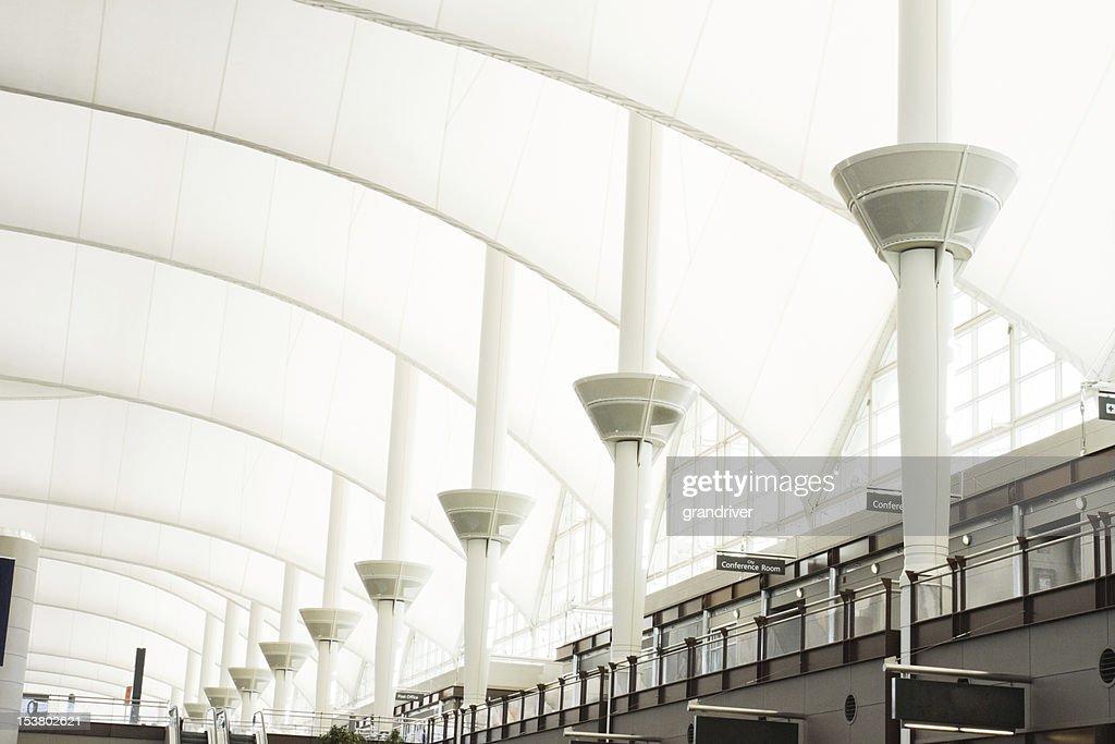 Interior Roof Of Denver International Airport