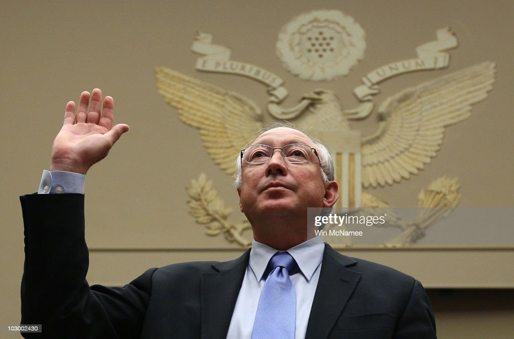 Interior Secretary Salazar Testifies On Dept's Role In BP Oil Disaster