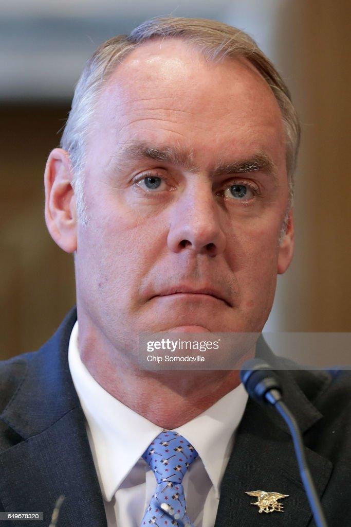 Interior Secretary Ryan Zinke Testifies At Senate Indian Affairs Committee Hearing