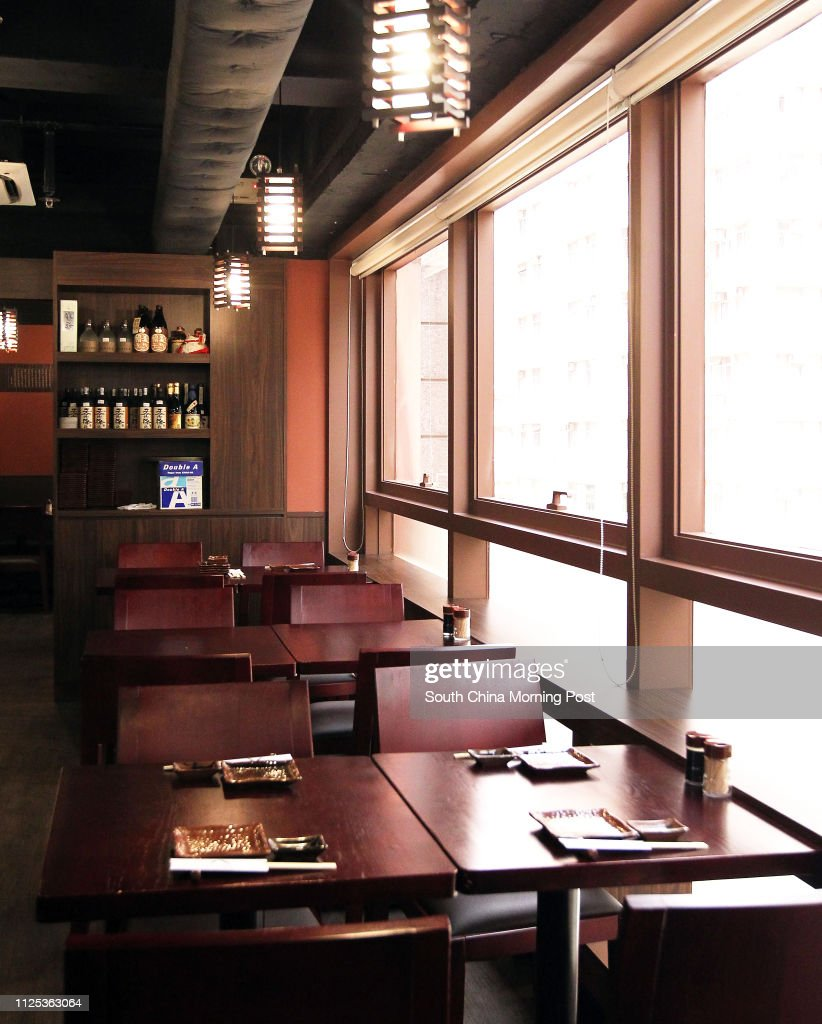 Interior Shot Of Hachi Japanese Restaurant At Circle Tower In News Photo Getty Images