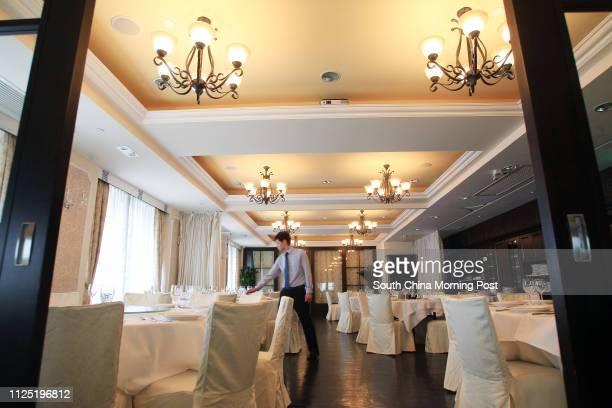 Interior shot of Nino's Cozinha located at QRE Plaza in Wanchai 27MAY11