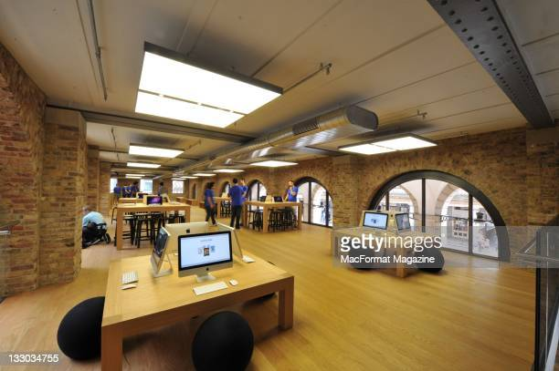 Interior shots of the Apple retail store in Covent Garden London August 5 2010