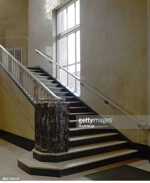 Interior stair James T Foley US Post Office and Courthouse Albany New York