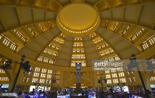Interior view, Central Market, Psar Thmei, Phnom Penh, Cambodia