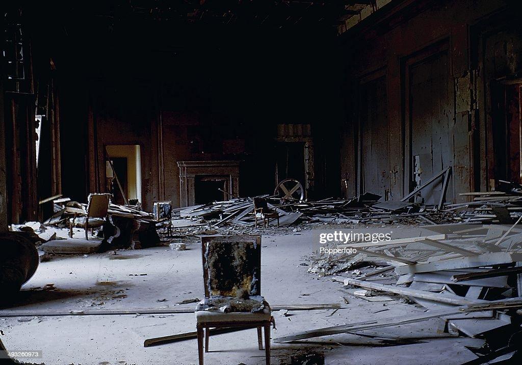 Reich Chancellery In Ruins : ニュース写真