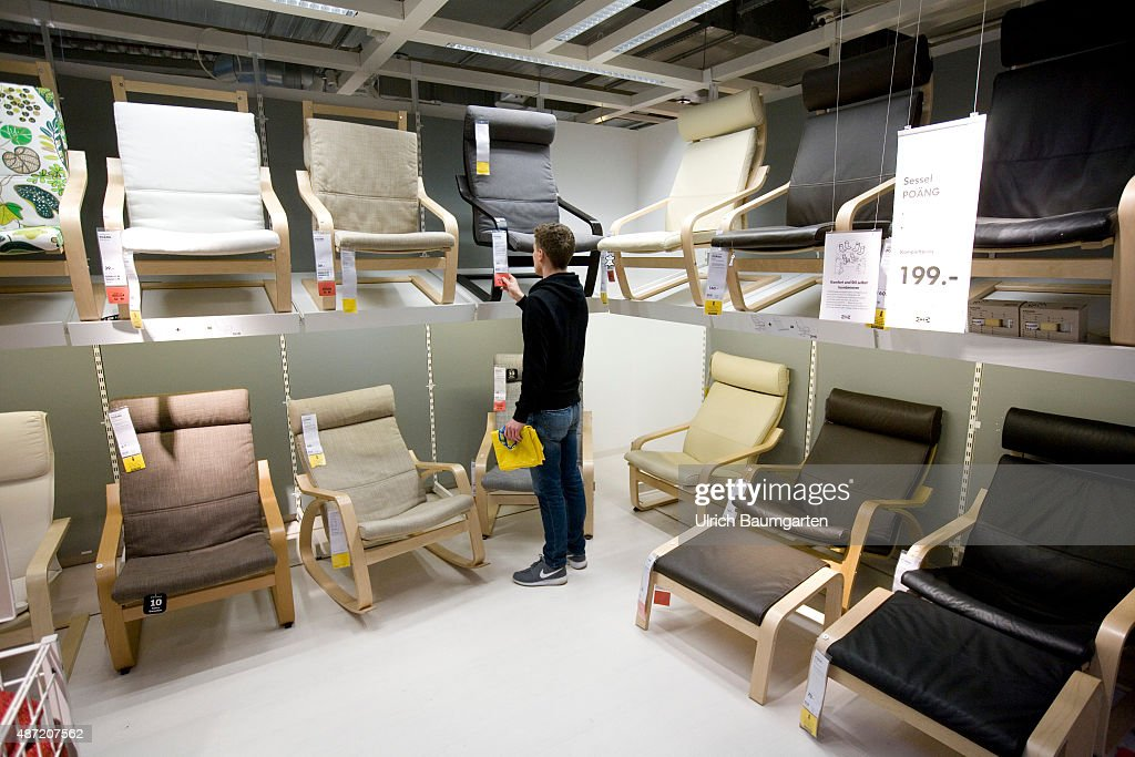 Interior View Of An Ikea Store In Cologne Customer In The Division