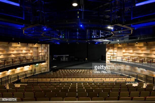 Interior view of auditorium Attenborough Centre Brighton United Kingdom Architect RH Partnership 2015