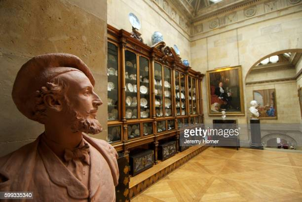interior view of castle howard - malton stock pictures, royalty-free photos & images