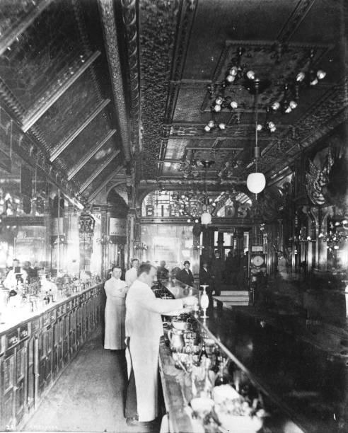 Inside Hannah And Hoggs Saloon
