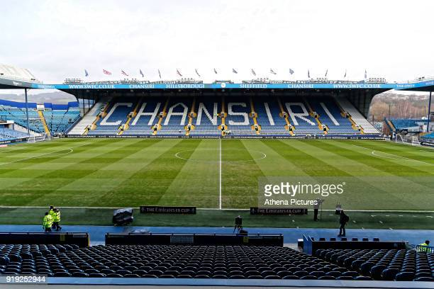 Interior view of Hillsborough during The Emirates FA Cup Fifth Round match between Sheffield Wednesday and Swansea City at Hillsborough on February...