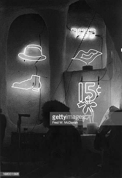 Interior view of 'Let There Be Neon' New York New York September 28 1972