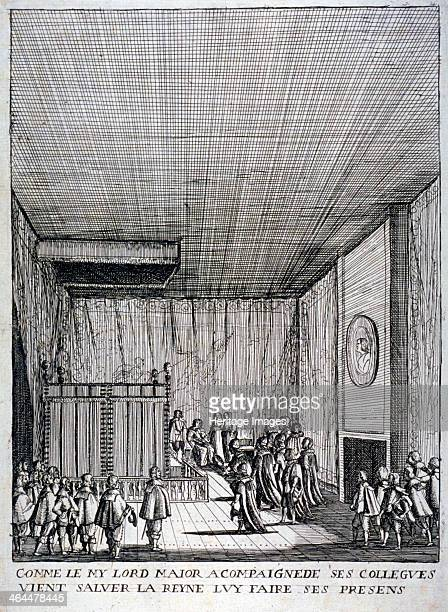 Interior view of St James's Palace Westminster London 1639