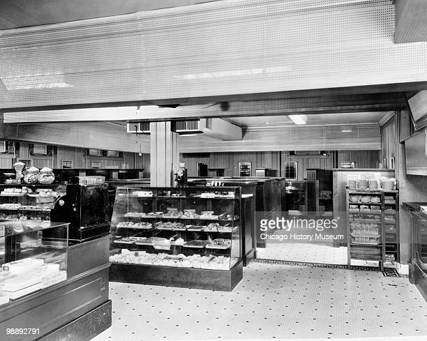 Interior view of the Blackstone Hotel, showing the bakery, Omaha, NE, 1941. The hotel was located at 302 South 36th Street.