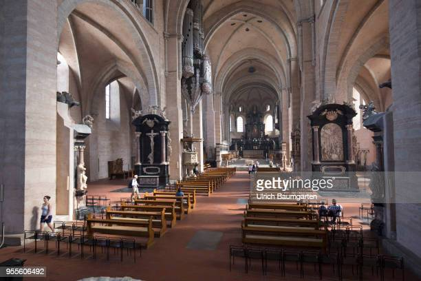 Interior view of the Cathedral of Trier Cathedral of the Bishop of Trier