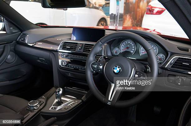 M4 interior view of the dashboard on October 20 2016 in Southend United Kingdom