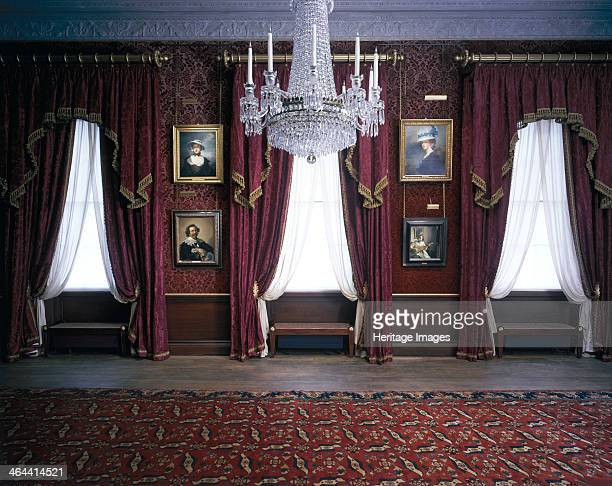 Interior view of the Dining Room at Kenwood House Hampstead London 2000