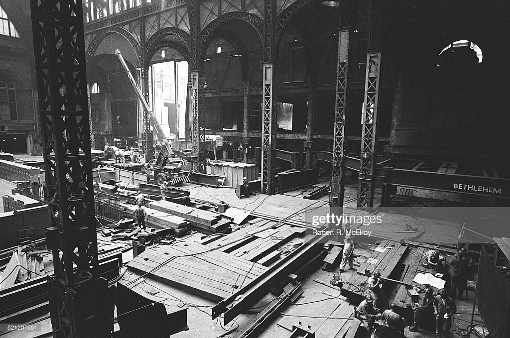 Penn Station, During The Demolition : News Photo
