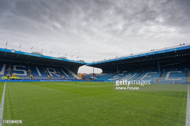 Interior view of the stadium during the Sky Bet Championship match between Sheffield Wednesday and Swansea City at Hillsborough Stadium on November...