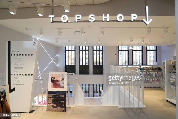 Interior view of the Topshop Topman store opening on November 15 2018 in Duesseldorf Germany