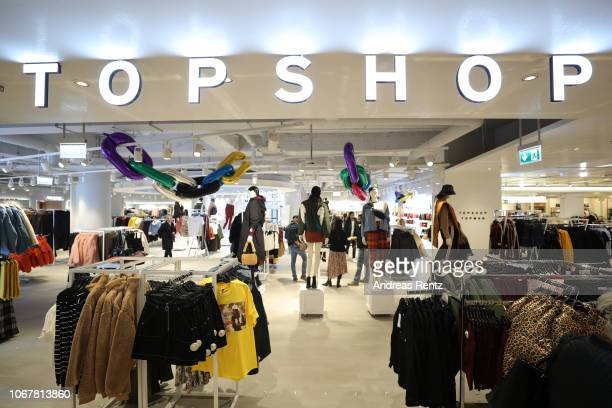 Interior view of the Topshop Topman store opening on November 15, 2018 in Duesseldorf, Germany.
