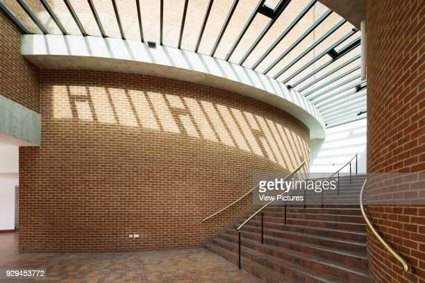 Interior view of walkway Attenborough Centre Brighton United Kingdom Architect RH Partnership 2015