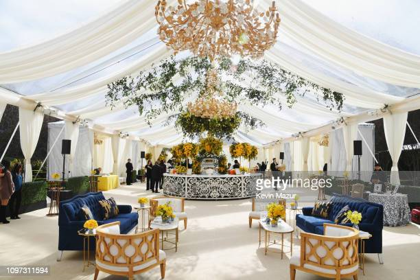 Interior views at 2019 Roc Nation THE BRUNCH on February 9 2019 in Los Angeles California