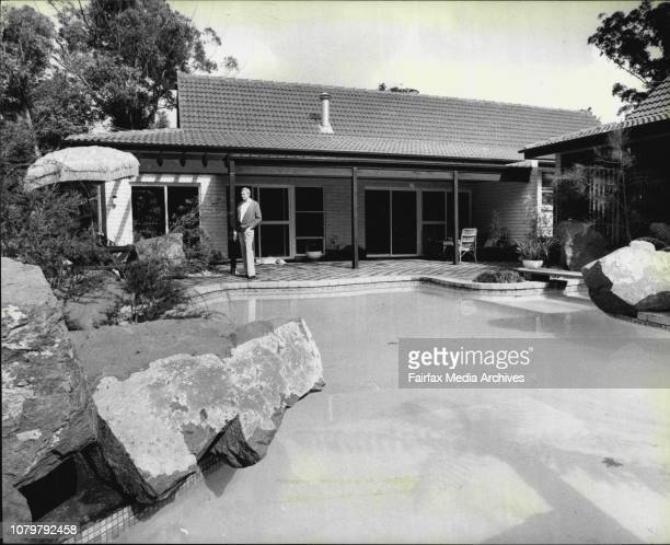 Interiors and exteriors of a house at 10 Finchley Place Wahroonga April 21 1980