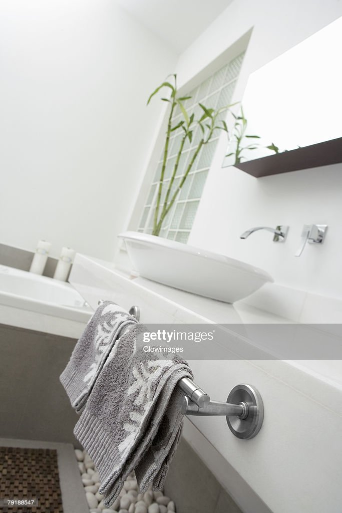 Interiors of a bathroom : Stock Photo
