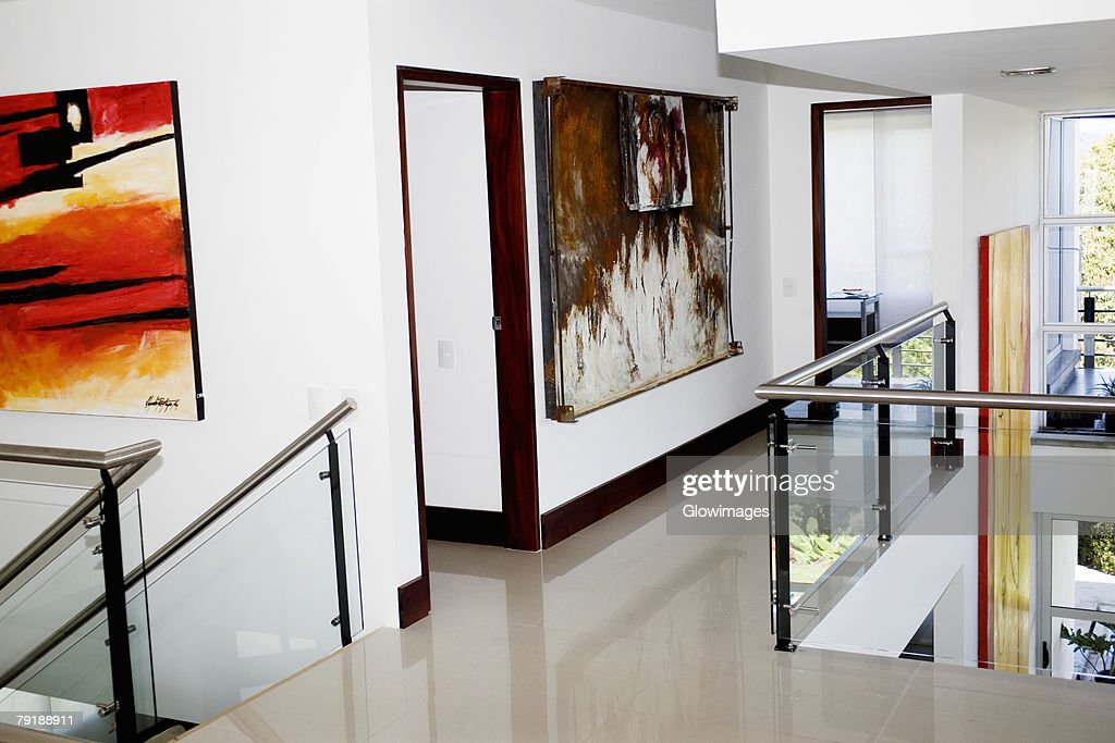 Interiors of a house : Foto de stock