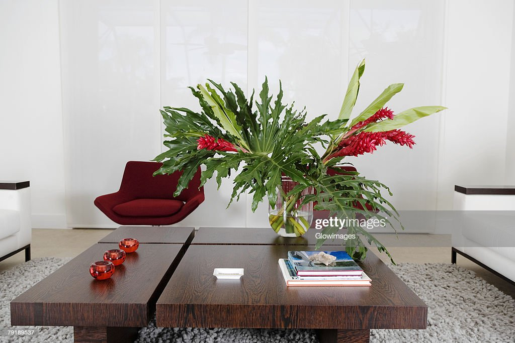 Interiors of a living room : Foto de stock