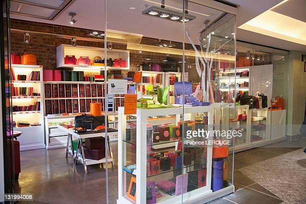 Interiors of a store