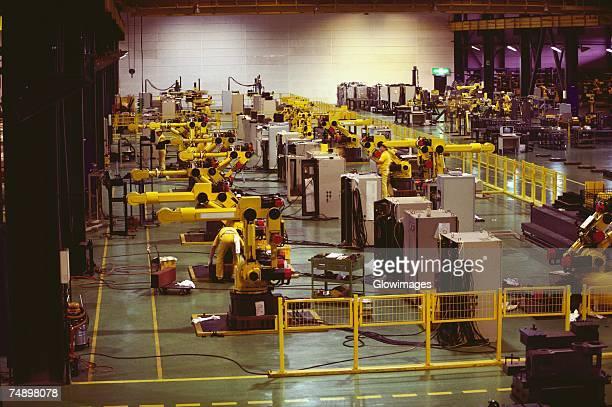 Interiors of an industry, Kawasaki, Kanagawa Prefecture, Japan