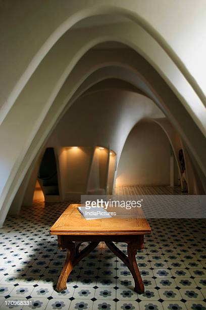 Interiors of Gaudi's Casa Mila Casa Mila also known as La Pedrera is a building designed by the Catalan architect Antoni Gaudí It is part of the...