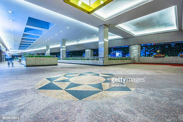 Interiors Of Shopping Mall