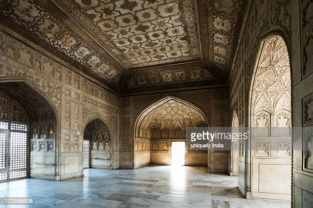 Interiors view of Khas Mahal, Agra Fort, Agra, Uttar Pradesh, India