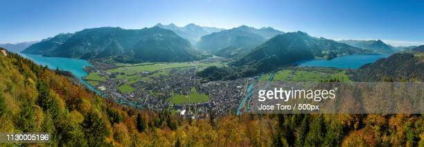 interlaken - bern stock photos and pictures