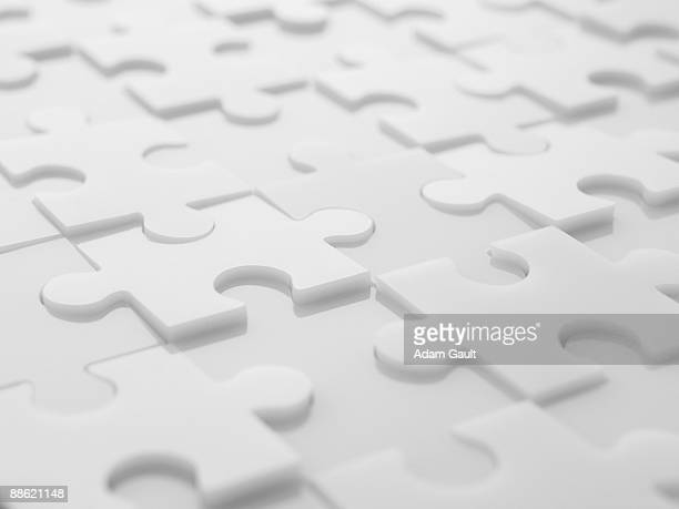 Interlocking puzzle pieces