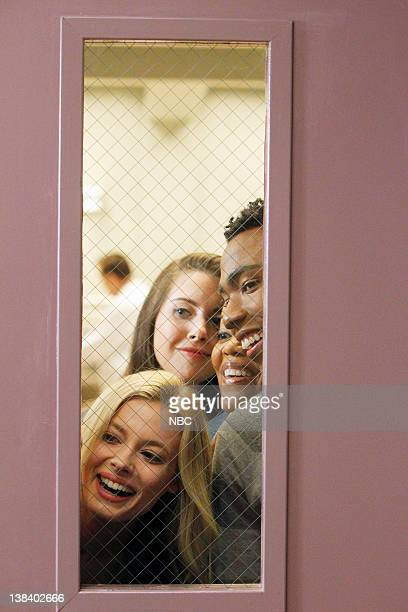 COMMUNITY Intermediate Documentary Filmmaking Episode 15 Pictured Gillian Jacobs as Britta Perry Alison Brie as Annie Edison Yvette Nicole Brown as...