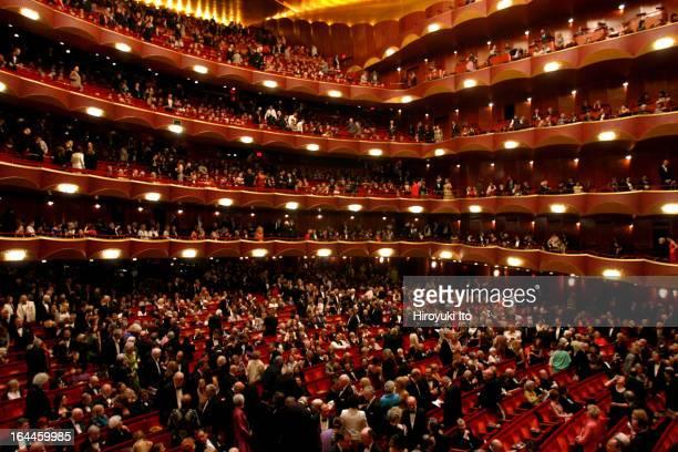 Intermission at the Joseph Volpe Gala at the Metropolitan Opera on Saturday night, May 20, 2006.