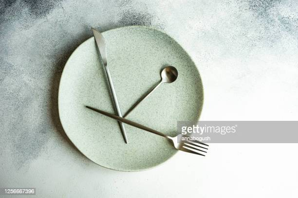 intermittent fasting concept - fasting activity stock pictures, royalty-free photos & images