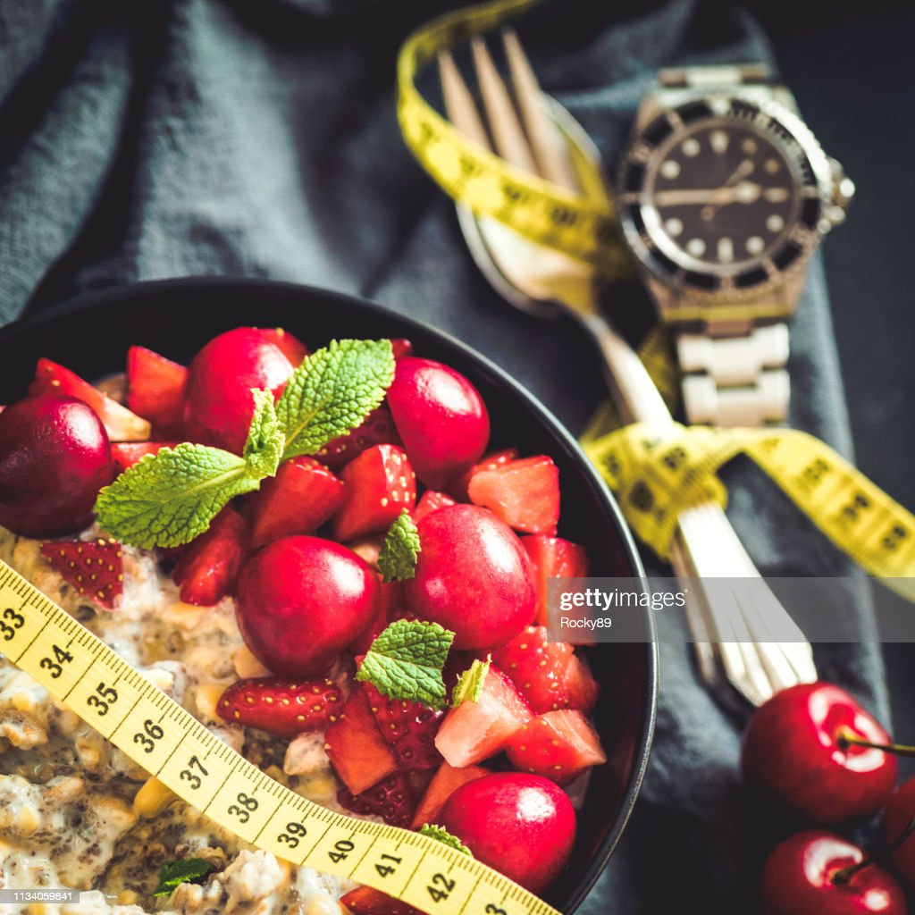 Intermittent Fasting – Weight Loss : Stock Photo
