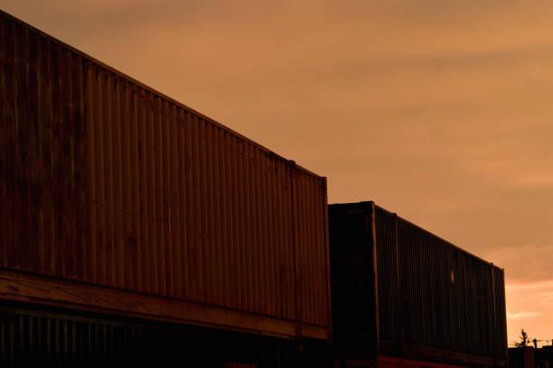 Intermodal at Sunset