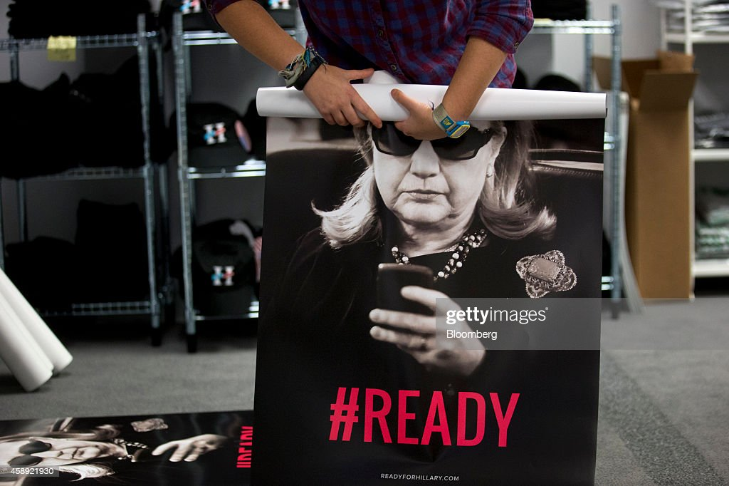 Operations At The Ready For Hillary PAC As Advisers Resisting Calls To Jump Early Into 2016 Race : News Photo