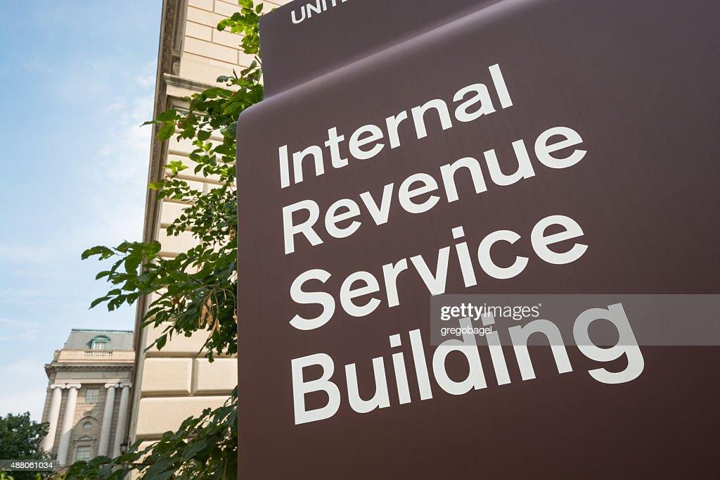 Internal Revenue Service (IRS) Building in Washington, DC : Stock Photo