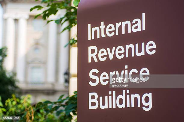 internal revenue service (irs) building in washington, dc - irs stock photos and pictures
