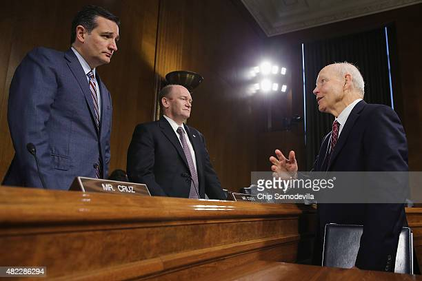 Internal Revenue Service Commissioner John Koskinen talks with Senate Judiciary's Oversight Agency Action Federal Rights and Federal Courts...