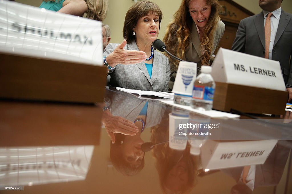 House Holds Hearing On Political Targeting At The IRS : News Photo
