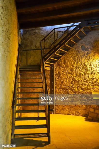 internal staircase Le Castella