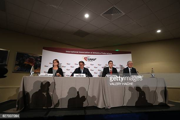 International Association of Athletics Federations President Sebastian Coe Head of the IAAF Taskforce looking into the steps Russia is taking to...